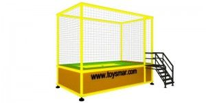 Özel imalat modüler trambolin 1 kişilik