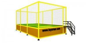 Özel imalat modüler trambolin 3 kişilik
