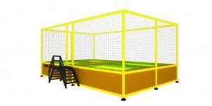 Özel imalat modüler trambolin 4 kişilik