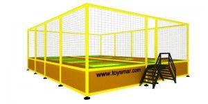 Özel imalat modüler trambolin 8 kişilik